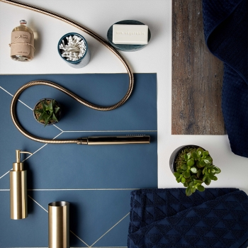 Lifestyle Flatlay Photograph with assorted Individual by VADO product