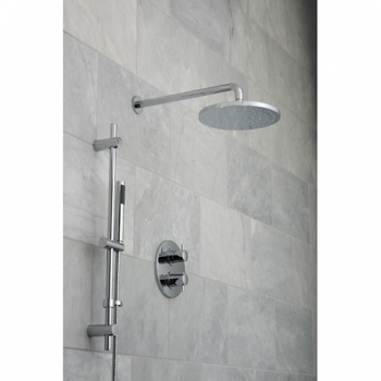 Lifestyle Photograph for a DX Celsius Round 2 Outlet Shower Package