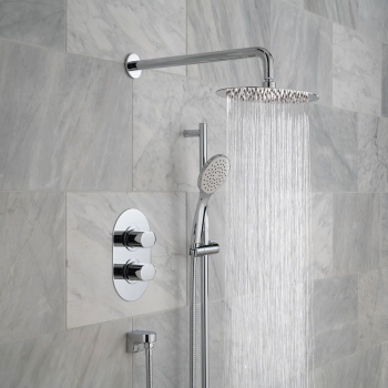Lifestyle Photograph for a DX Life 2 Outlet Shower Package