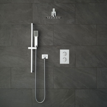 Lifestyle Photograph for a DX Notion 2 Outlet Shower Package