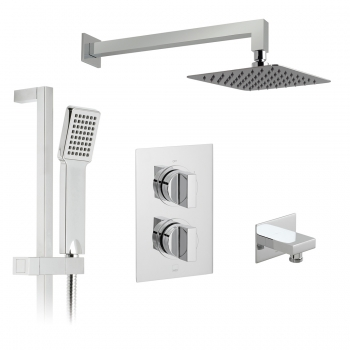 Product Photograph for a DX Notion 2 Outlet Concealed Thermostatic Shower Valve Package