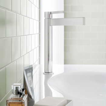 Lifestyle Photograph of the Edit Extended Mono Basin Mixer Tap