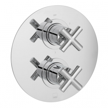 Product Photograph for a DX Elements 3 Outlet 2 Handle Concealed Thermostatic Shower Valve
