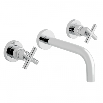 Product Photograph Featuring an Elements Wall Mounted Basin Mixer Tap