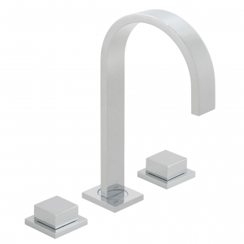 Product Photograph for a Geo Deck Mounted Basin Mixer Tap