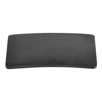 Product Photograph for an Individual by VADO Brushed Black Square Cap for Universal Basin Waste