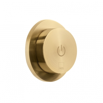 Product Photograph for an Individual by VADO Brushed Gold Sensori SmartDial Remote