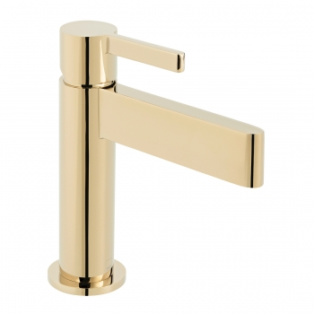 Product Photograph for an Individual by VADO Bright Gold Edit Mono Basin Mixer Tap
