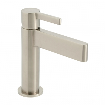 Product Photograph for an Individual by VADO Brushed Nickel Edit Mono Basin Mixer Tap