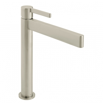 Product Photograph for an Individual by VADO Brushed Nickel Edit Extended Mono Basin Mixer Tap