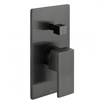 Product Photograph for an Individual by VADO Brushed Black Notion Manual Valve with Diverter