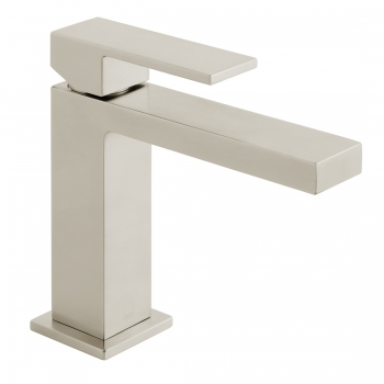 Product Photograph for an Individual by VADO Brushed Nickel Notion Slimline Mono Basin Mixer Tap