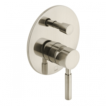 Product Photograph for an Individual by VADO Brushed Nickel Origins Manual Valve with Diverter