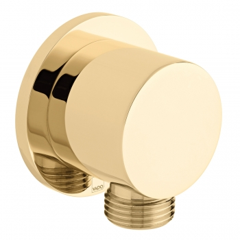 Product Photograph for an Individual by VADO Bright Gold Round Wall Outlet