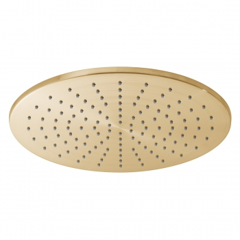 Product Photograph for an Individual by VADO Brushed Gold Round 300mm Shower Head