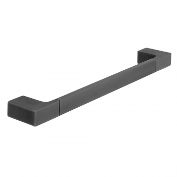 Product Photograph for an Individual by VADO Brushed Black Shama 450mm Towel Rail