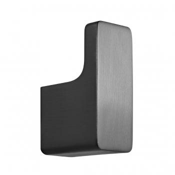 Product Photograph for an Individual by VADO Brushed Black Shama Robe Hook