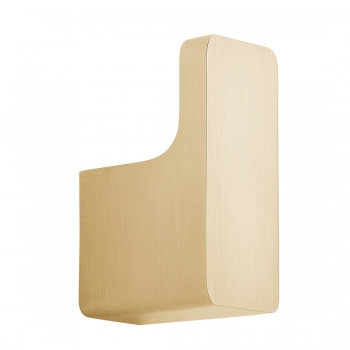 Product Photograph for an Individual by VADO Brushed Gold Shama Robe Hook