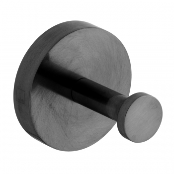 Product Photograph for an Individual by VADO Brushed Black Spa Robe Hook