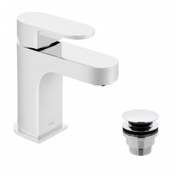 Product Photograph for a Life Mono Basin Mixer Tap with Universal Waste