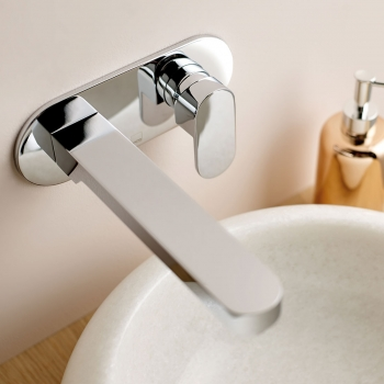 Lifestyle Photograph for a Life Wall Mounted Basin Mixer Tap