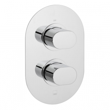 Product Photograph for a DX Life 1 Outlet 2 Handle Thermostatic Shower Valve