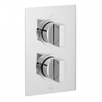 Product Photograph for a DX Notion 3 Outlet 2 Handle Concealed Thermostatic Shower Valve