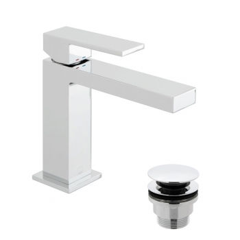 Product Photograph for a Notion Slimline Mono Basin Mixer Tap with Universal Basin Waste