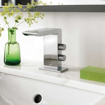 Lifestyle Photograph for an Omika Mono Basin Mixer Tap