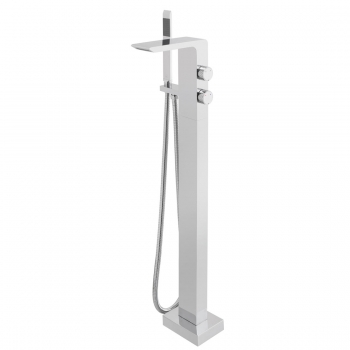 Product Photograph for an Omika Floor Standing Bath Shower Mixer with Shower Kit