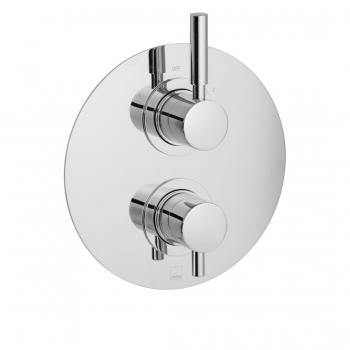 Product Photograph for a DX Origins  2 Outlet 2 Handle Thermostatic Shower Valve