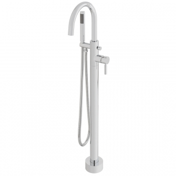 Product Photograph for an Origins Floor Standing Bath Shower Mixer Tap with Shower Kit