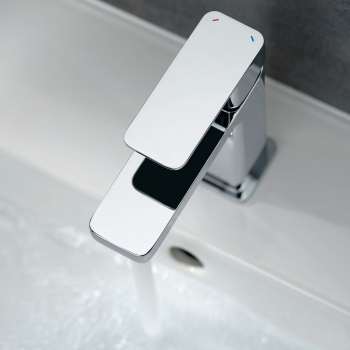 Lifestyle Photograph Featuring a Phase Mono Basin Mixer Tap
