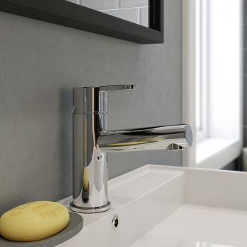 Lifestyle Photograph Featuring a Sense Mono Basin Mixer Tap