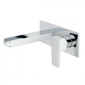 Product Photograph for a Synergie Wall Mounted Mono Basin Mixer Tap