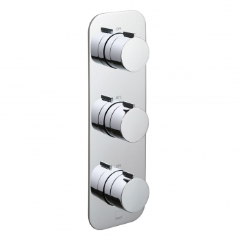 Product Photograph for a Tablet Altitude 2 Outlet 3 Handle Concealed Thermostatic Shower Valve