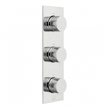 Product Photograph for a Tablet Omika 2 Outlet 3 Handle Concealed Thermostatic Shower Valve