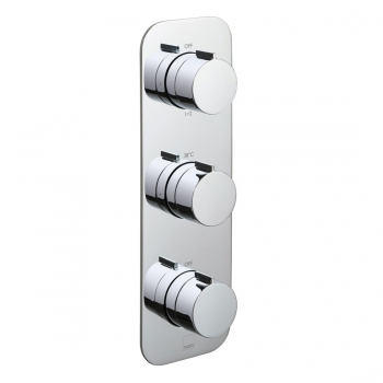 Product Photograph for a Tablet Altitude 3 Outlet 3 Handle Concealed Thermostatic Shower Valve