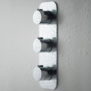 Lifestyle Photograph for a Tablet Altitude 2 Outlet 3 Handle Concealed Thermostatic Shower Valve