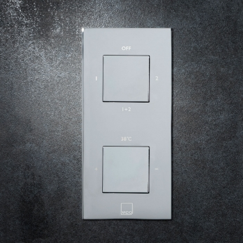 Lifestyle Photograph Featuring a Tablet Notion 2 Outlet Concealed Thermostatic Shower Valve