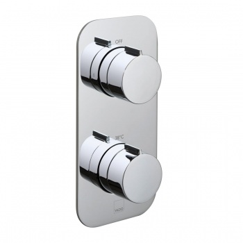 Product Photograph for a Tablet Altitude 1 Outlet 2 Handle Concealed Thermostatic Shower Valve