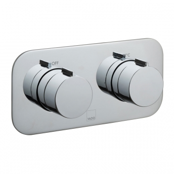 Product Photograph for a Tablet Altitude Horizontal 1 Outlet 2 Handle Concealed Thermostatic Shower Valve
