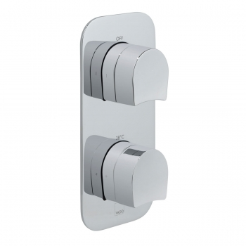 Product Photograph for a Tablet Kovera 1 Outlet 2 Handle Concealed Thermostatic Shower Valve