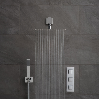 Lifestyle Photograph for a Tablet Notion 2 Outlet Shower Package