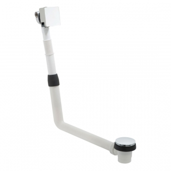Product Photograph Featuring a Square Bath Filler Waste and Overflow