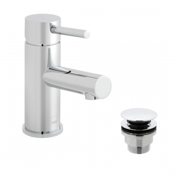 Product Photograph Featuring a Zoo Mono Basin Mixer with Universal Basin Waste