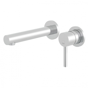 Product Photograph Featuring a Zoo Wall Mounted Basin Mixer Tap