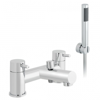 Product Photograph Featuring a Zoo Bath Shower Mixer Tap with Shower Kit